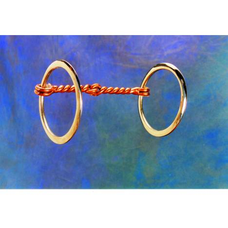 Colorado Saddlery Twisted Wire Snaffle Bit