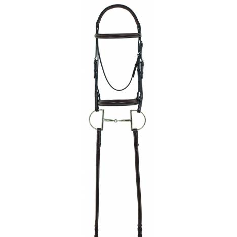 Camelot RCS Plain Raised Bridle