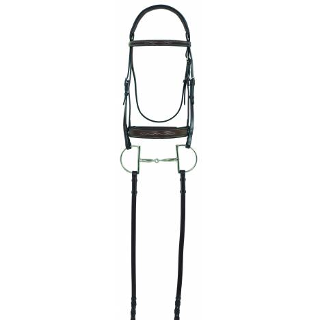 Camelot RCS Fancy Wide Raised Bridle