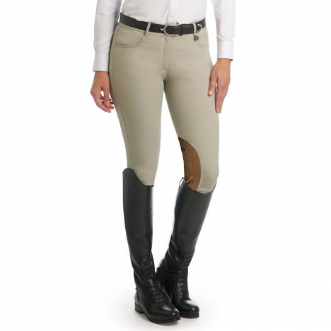 Ovation Aqua-X Clarino Knee Patch Breeches - Ladies