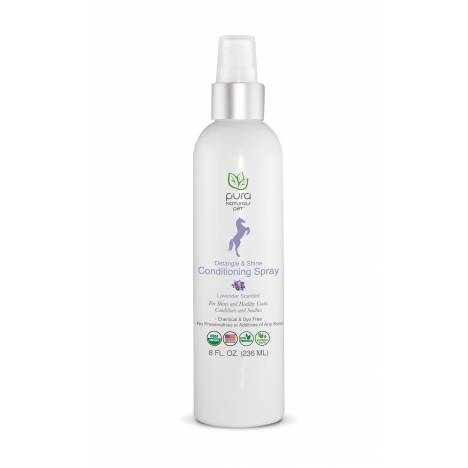 Pura Naturals Lavender Detangle & Shine