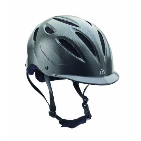 Ovation Gloss Crackle Protege Helmet - Ladies