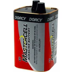 Dorcy Battery 6 Volt Alkaline Spring Top