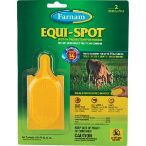 Farnham Equi-Spot Spot-On Fly Control For Horses