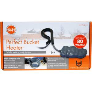 K&H Perfect Bucket Heater With  Cord Clip