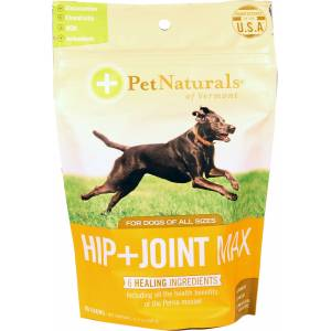 Pet Naturals Of Vermont Hip + Joint Max Chew For Dogs