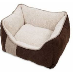 Petmate Classic Lounger Microluxe Plush/Suede