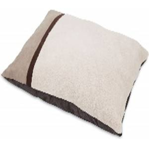 Petmate Classic Pillow Bed Microluxe Plush/Suede