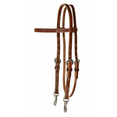 Reinsman Rosewood Harness Training Headstall