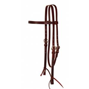 Reinsman Single Ply Browband Headstall With Tie Ends