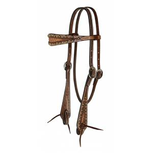 Reinsman Sharon Camarillo Spotted  Headstall