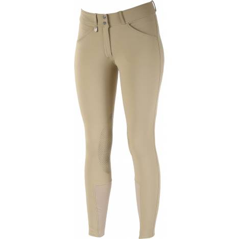 Horze Grand Prix Silicone Breeches- Ladies, Knee Patch