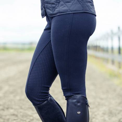 Horze Active Silicone Grip Breeches- Ladies, Full Seat