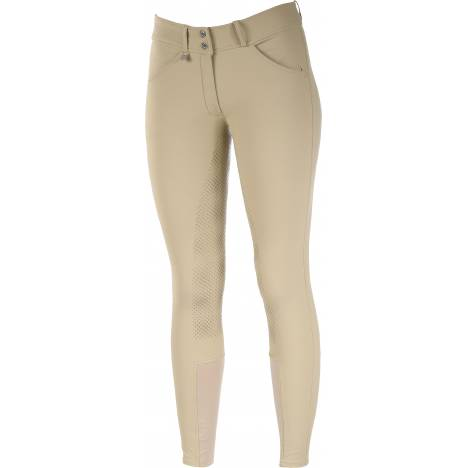 Horze Grand Prix Silicone Grip Full Seat Breeches - Kids