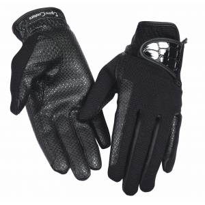 Equine Couture Grippy Gloves with Alligator- Ladies