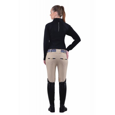 Equine Couture Performance Polo Shirt- Ladies, Long Sleeve