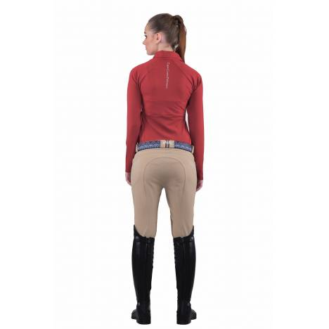 Equine Couture Sarah Breeches- Ladies,Knee Patch