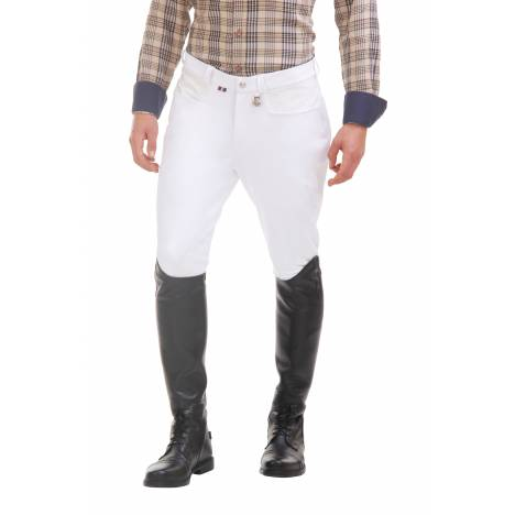Tuffrider Oslo Breeches- Mens, Knee Patch