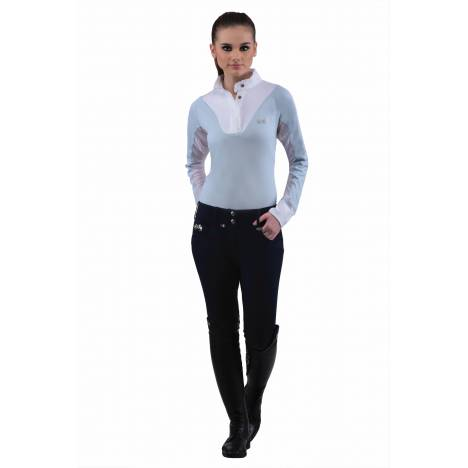Equine Couture Chelsea Show Shirt- Ladies, Long Sleeve