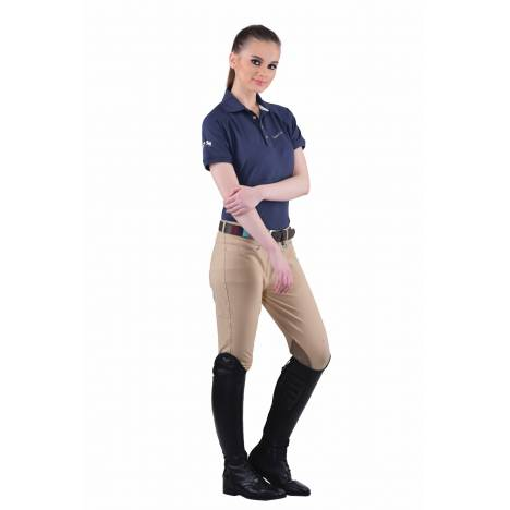 Equine Couture Performance Polo Shirt- Ladies,Short Sleeve