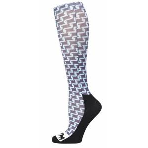 Equine Couture Geo Padded Boot Socks- Ladies