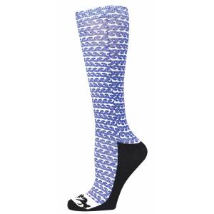 Equine Couture Wave Padded Boot Socks- Ladies