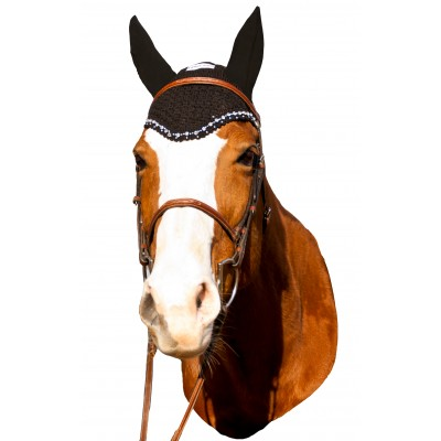 Equine Couture Fly Bonnet- Crystals