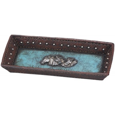 Leather Design Tray