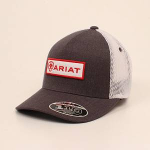 Ariat Mens Flexfit Tech 110 Center Patch Cap