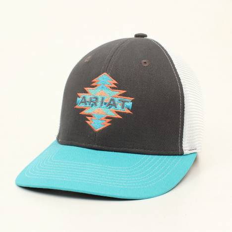 Ariat Ladies Aztec Logo Patch Mesh Back Cap