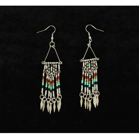 Blazin Roxx Beaded Dangle Earrings