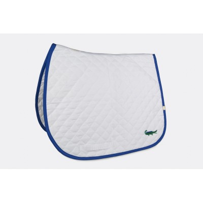 Lettia Embroidered Green Alligator Baby Pad