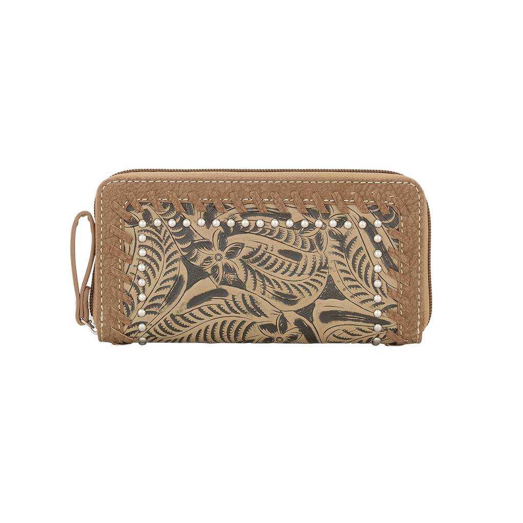 Bandana Ladies Trinity Trail Zip Around Wallet