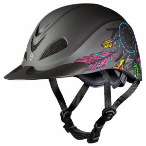 Troxel Rebel Western Helmet - Dreamcatcher