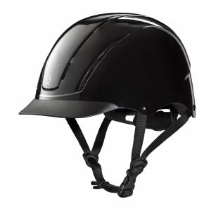 Troxel Spirit Low Profile Helmet - Black