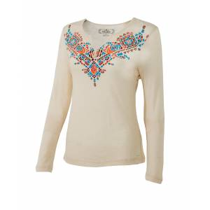 Noble Outfitters Free Spirit Henley - Ladies