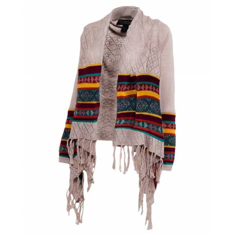 Noble Outfitters Frontier Fringe Cardigan - Ladies