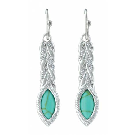 Montana Silversmiths Woven Light Earrings