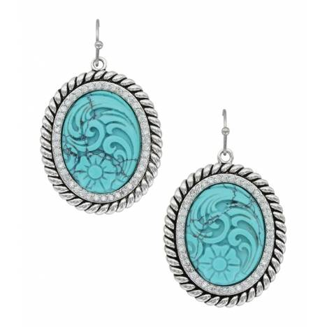 Montana Silversmiths Carved Legacy Earrings