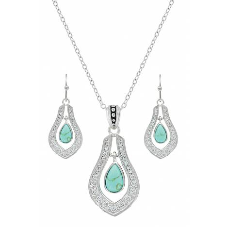 Montana Silversmiths School Of Nature Jewelry Set