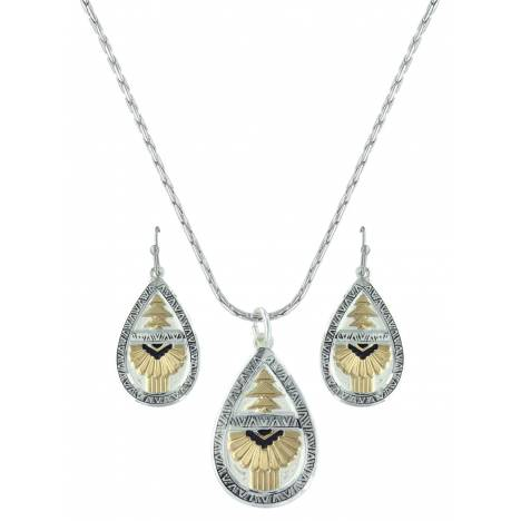 Montana Silversmiths Southern Rays Of Light Jewelry Set
