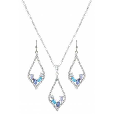 Montana Silversmiths River Of Lights At The Waters Edge Teardrop Jewelry Set