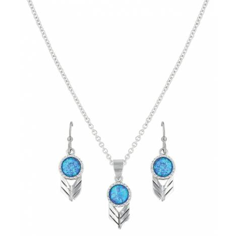 Montana Silversmiths Perfect Sky Flower Jewelry Set