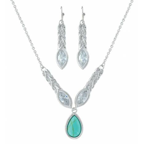 Montana Silversmiths Woven Light Jewelry Set