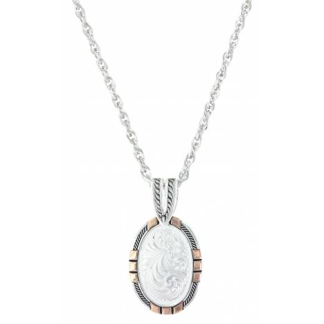 Montana Silversmiths New Traditions Rose Gold Pendant Necklace