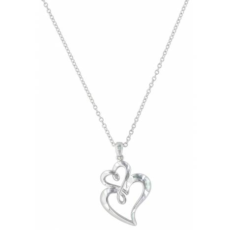 Montana Silversmiths Infinite Love Heart Necklace