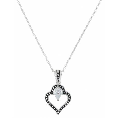 Montana Silversmiths Spade Of Hearts Necklace
