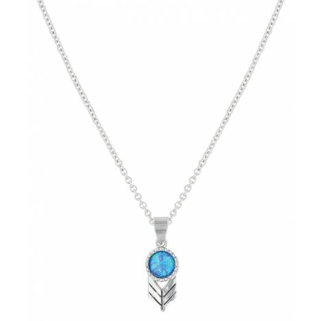 Montana Silversmiths Perfect Sky Flower Necklace