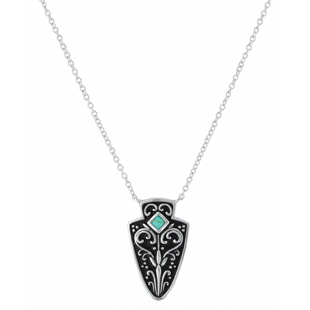 Montana Silversmiths Filigree Arrowhead Necklace