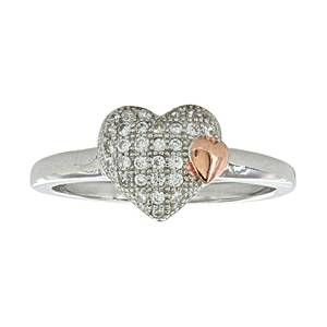Montana Silversmiths Kindred Hearts Ring